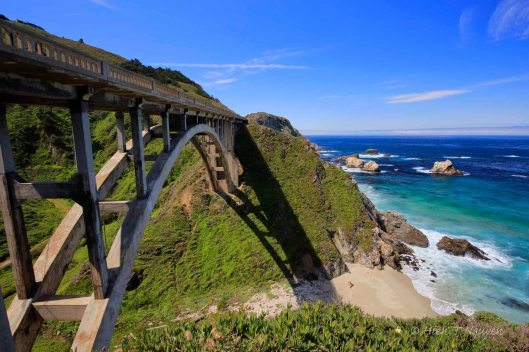 Rocky Creek bridge north of Bixby bridge.